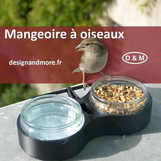 Descargar archivo 3D gratis Comedero para pájaros, Designandmore3D