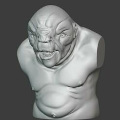 troll.jpg Télécharger fichier STL gratuit La chasse aux hobbits • Objet pour imprimante 3D, 3DPishu