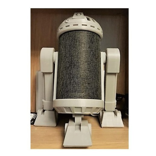 Download 3D printing files Amazon Echo R2D2 Mount, Jay_Charles