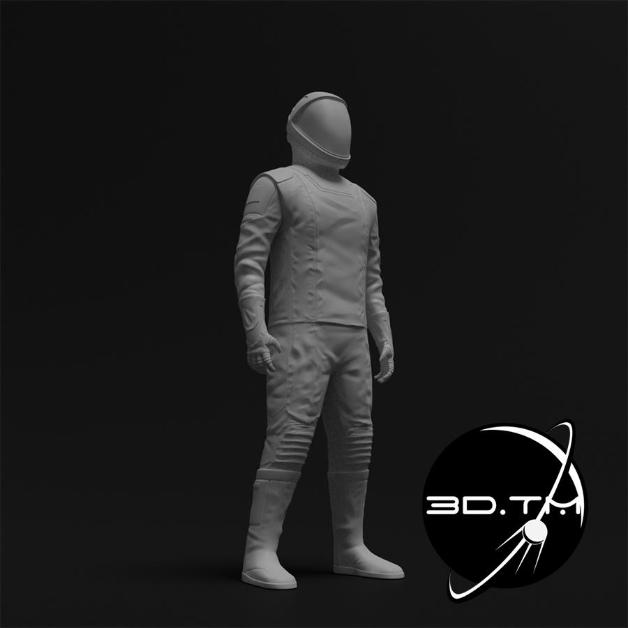 rd003.jpg Download STL file Starman Space Suit (SpaceX Crew) • Design to 3D print, tmatosc