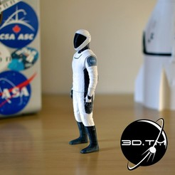 0002.jpg Download STL file Starman Space Suit (SpaceX Crew) • Design to 3D print, tmatosc