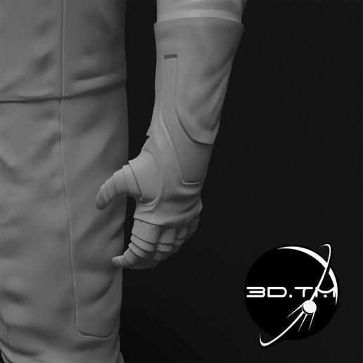 rd005.jpg Download STL file Starman Space Suit (SpaceX Crew) • Design to 3D print, tmatosc