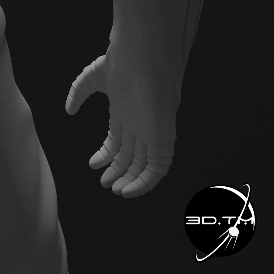 rd010.jpg Download STL file Starman Space Suit (SpaceX Crew) • Design to 3D print, tmatosc