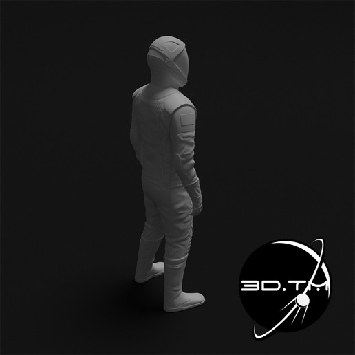 rd004.jpg Download STL file Starman Space Suit (SpaceX Crew) • Design to 3D print, tmatosc