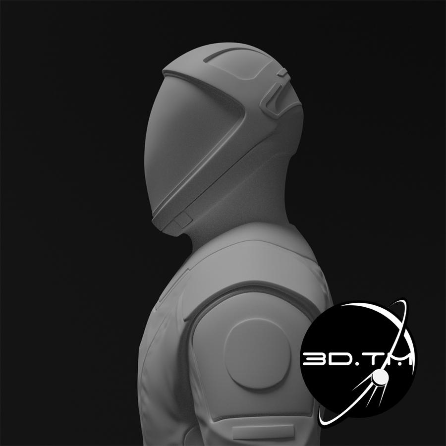 rd011.jpg Download STL file Starman Space Suit (SpaceX Crew) • Design to 3D print, tmatosc