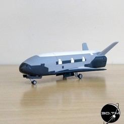 Download 3D printing files X-37B Orbital Test Vehicle, tmatosc