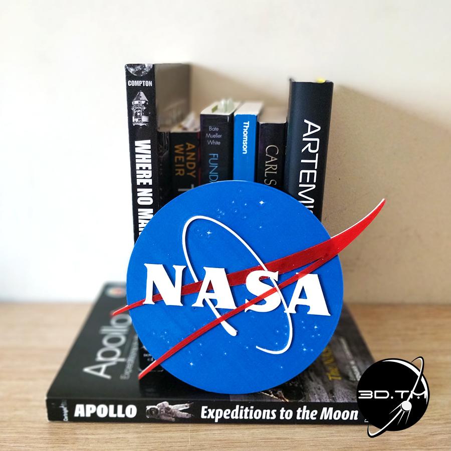 """NASA_004.jpg Télécharger fichier STL gratuit Insigne """"Meatball"""" de la NASA • Objet pour impression 3D, tmatosc"""