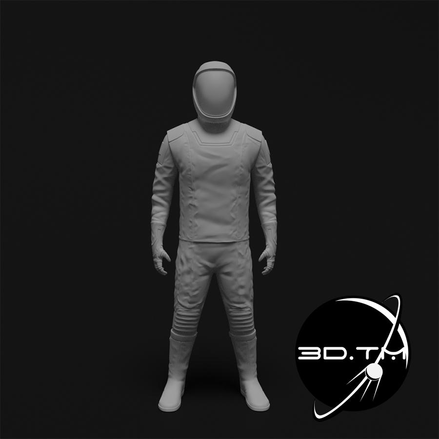 rd001.jpg Download STL file Starman Space Suit (SpaceX Crew) • Design to 3D print, tmatosc