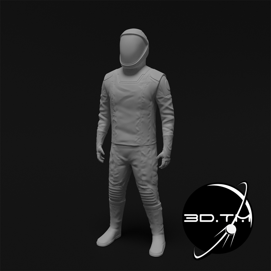 rd002.jpg Download STL file Starman Space Suit (SpaceX Crew) • Design to 3D print, tmatosc