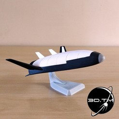 001.jpg Download free STL file X-33 / Venturestar (Spaceplane) • 3D printer design, tmatosc