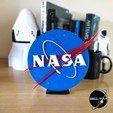 """NASA_005.jpg Télécharger fichier STL gratuit Insigne """"Meatball"""" de la NASA • Objet pour impression 3D, tmatosc"""