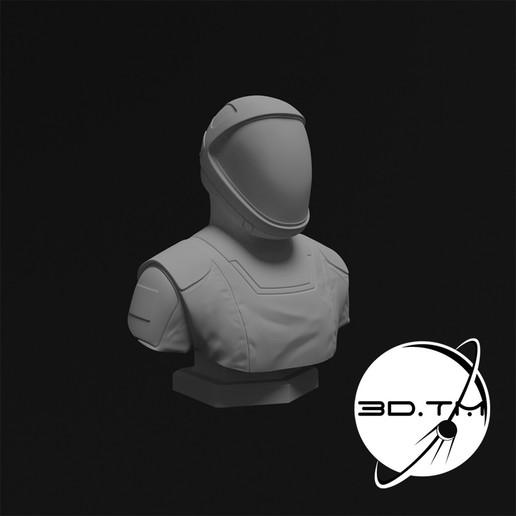 bust_0006.jpg Télécharger fichier STL Buste de Starman - Buste de l'équipage de SpaceX • Modèle à imprimer en 3D, tmatosc