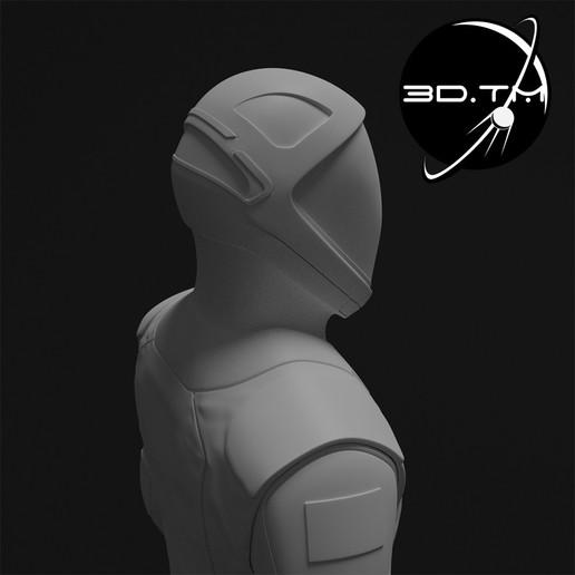 rd006.jpg Download STL file Starman Space Suit (SpaceX Crew) • Design to 3D print, tmatosc