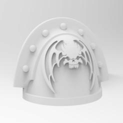 Impresiones 3D gratis Hombrera de los Marines Espaciales - Señores de la Noche, alphaflight83