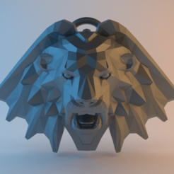 Witcher_Manticore_School.png Download free STL file Witcher Medallion - Manticore School • 3D printing model, alphaflight83
