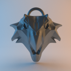 Witcher_Griffin_School_v2.png Download free STL file Witcher Medallion - Griffin School • 3D printer model, alphaflight83