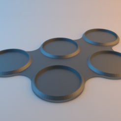 Squad_Bases.png Download free STL file Squad bases 32mm • Object to 3D print, alphaflight83