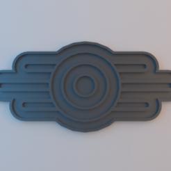 VaultTec.png Télécharger fichier STL gratuit Logo Vault-Tec • Design imprimable en 3D, alphaflight83