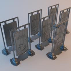 Battletech_Banners_4.png Download free STL file Battletech Banners • Design to 3D print, alphaflight83