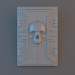Inquisition_Top_Hatch.png Download free STL file Inquisition Chimera Top Hatch • 3D printable design, alphaflight83