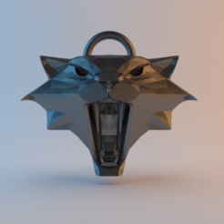 CatSchool_fireandice.png Download free STL file Witcher Medallion - Cat School • 3D printing template, alphaflight83