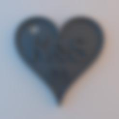 Descargar STL gratis Colgante de corazón, alphaflight83