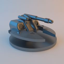 Descargar Modelos 3D para imprimir gratis Epopeya 40k Eldar Falcon Revisada, alphaflight83