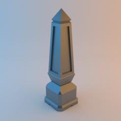 Descargar diseños 3D gratis Obelisco para juegos de guerra de mesa, alphaflight83