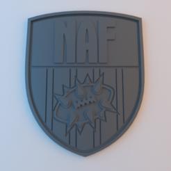 Impresiones 3D gratis Insignia BB NAF, alphaflight83