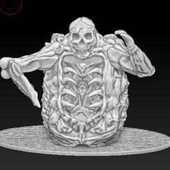 Imprimir en 3D gratis Corpes Golem, cheekiestmonk