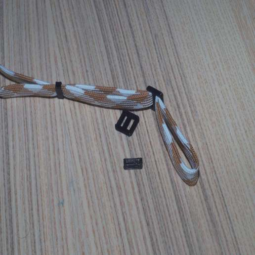 DSC02473.jpg Download free STL file Self-locking buckle and loop • 3D printing object, WaterLemon