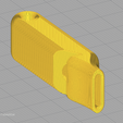Download free 3D printer templates Small and minimalist whistle, WaterLemon