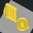 Download free 3D print files Small Nutella safe and piggybank - without screw!!!, WaterLemon