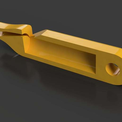 2.jpg Download free STL file Small and minimalist whistle • 3D print object, WaterLemon