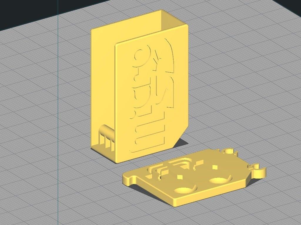 Screenshot_562.png Télécharger fichier STL gratuit Support SD et micro SD 1-10 éléments • Plan pour impression 3D, WaterLemon