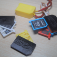 Download free STL file SD and micro SD holder 1-10 elements, WaterLemon