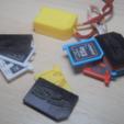 Télécharger fichier STL gratuit Support SD et micro SD 1-10 éléments, WaterLemon