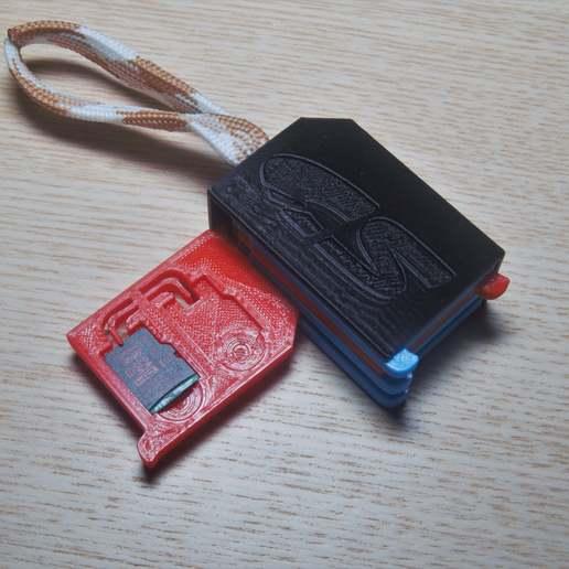 DSC02634.jpg Télécharger fichier STL gratuit Support SD et micro SD 1-10 éléments • Plan pour impression 3D, WaterLemon