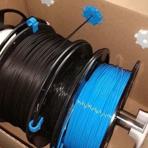Télécharger STL gratuit Stockage du filament dans une boîte pour l'archivage, WaterLemon