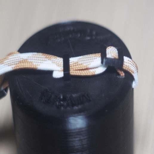 DSC02437.jpg Download free STL file Self-locking buckle and loop • 3D printing object, WaterLemon