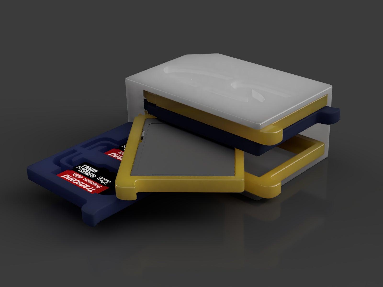 Render_2019-Sep-06_05-32-41PM-000_CustomizedView21884589018_jpg.jpg Télécharger fichier STL gratuit Support SD et micro SD 1-10 éléments • Plan pour impression 3D, WaterLemon