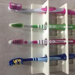 Download 3D printing models Toothbrush holder, alfonsodosmil