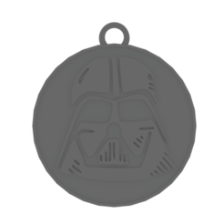 Download free STL file Darth Vader Keychain • 3D printable template, RgsDev
