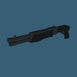 SPAS-12 Shotgun by RgsDev Print 1 1000x1000.png Download free STL file SPAS-12 Shotgun Low Poly • 3D printer model, RgsDev