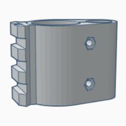 2020-12-02 (3).png Télécharger fichier STL (S/L) Support de canon PR900W + rail pour bipied (artemis, fox, snowpeak, ONIX Initzia) • Modèle pour imprimante 3D, rigardo