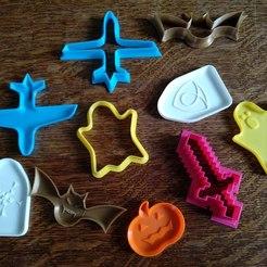 Descargar archivos 3D gratis Cuchillos para galletas, Alwyn