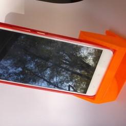 Descargar modelos 3D gratis Soporte de teléfono con bocina plegada, Alwyn