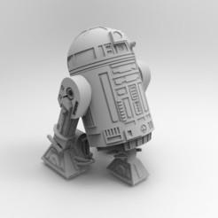 Télécharger objet 3D Modèle d'impression 3D du robot R2-D2, cosmo12586