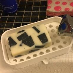 Télécharger fichier STL gratuit Porte savon / Soap Dish • Plan à imprimer en 3D, Neylips