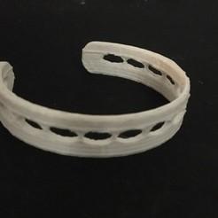 thing 1.jpg Download free STL file Open Bracelet / Open Bracelet • 3D printable model, Neylips